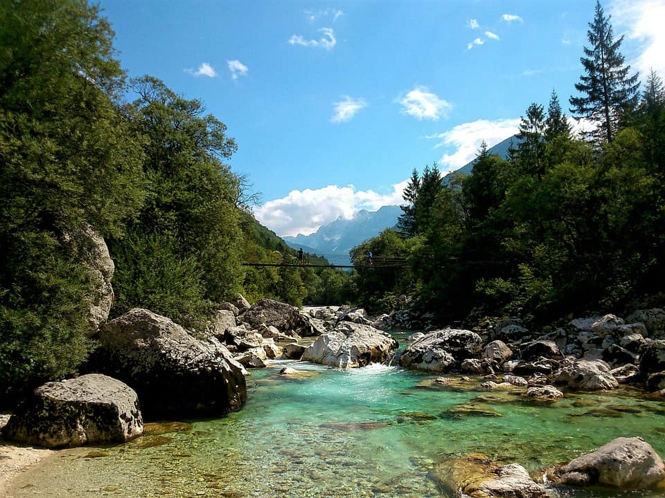 river 983476 960 720 - 10 Best places to visit in Slovenia