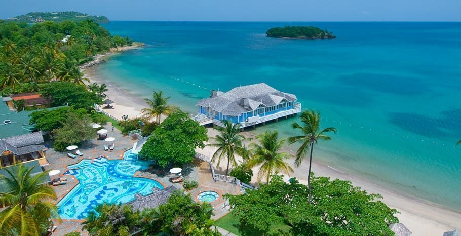 Sandals Resorts, Sandals Halcyon Beach, Saint Lucia