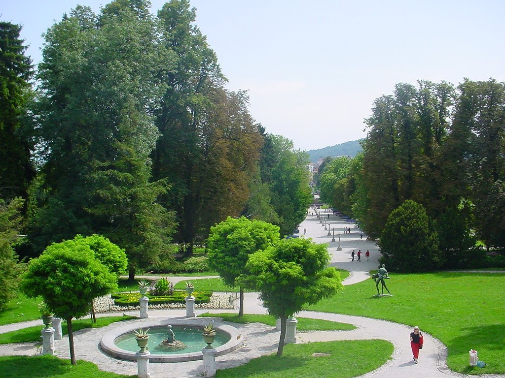 Tivoli Park Ljubljana, Best things to do in Ljubljana