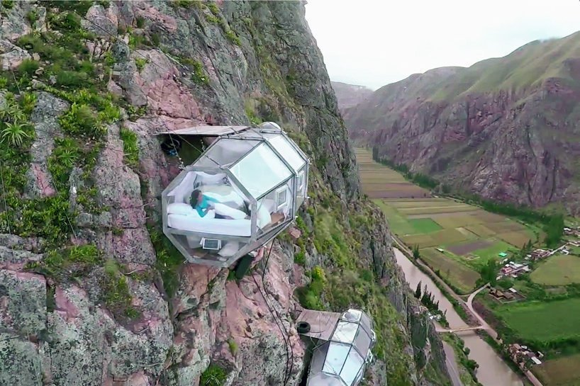 Skylodge adventure suites in Peru, Glass pods, Natura vive skylodge