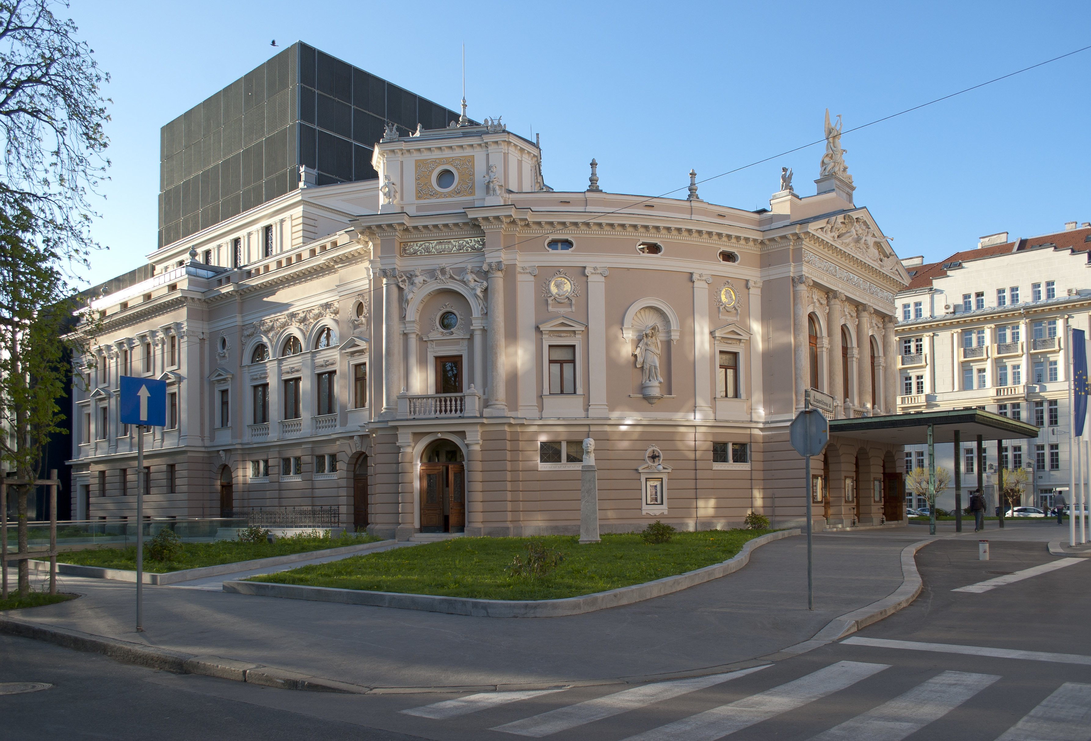 Slovenian National Opera and Ballet Theatre, best things to do in Ljubljana