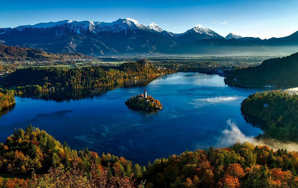 Lake bled, Slovenia. Best Places to hike in Europe