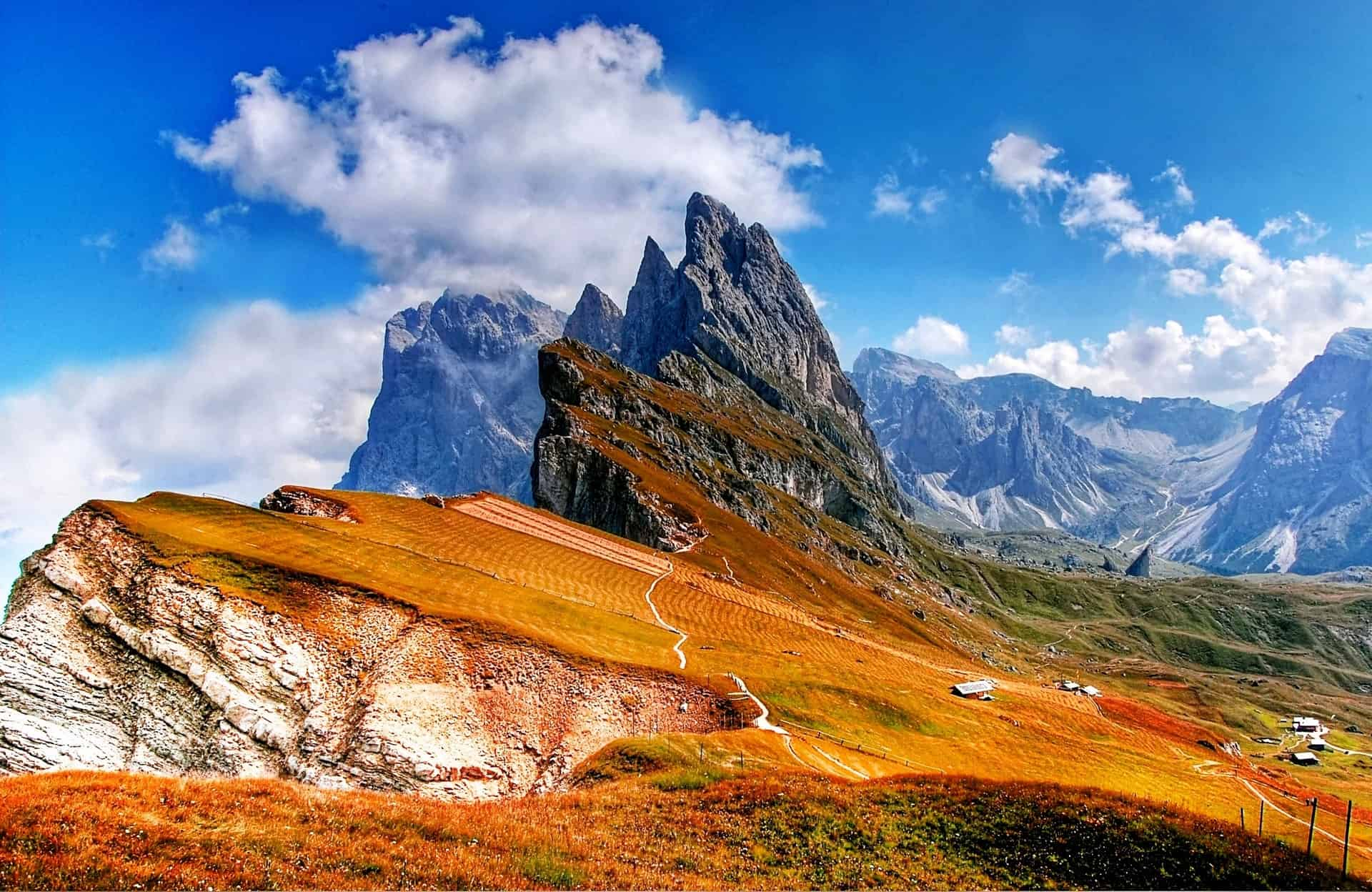 Alta Via, Dolomites, Italy, best places to hike in Europe
