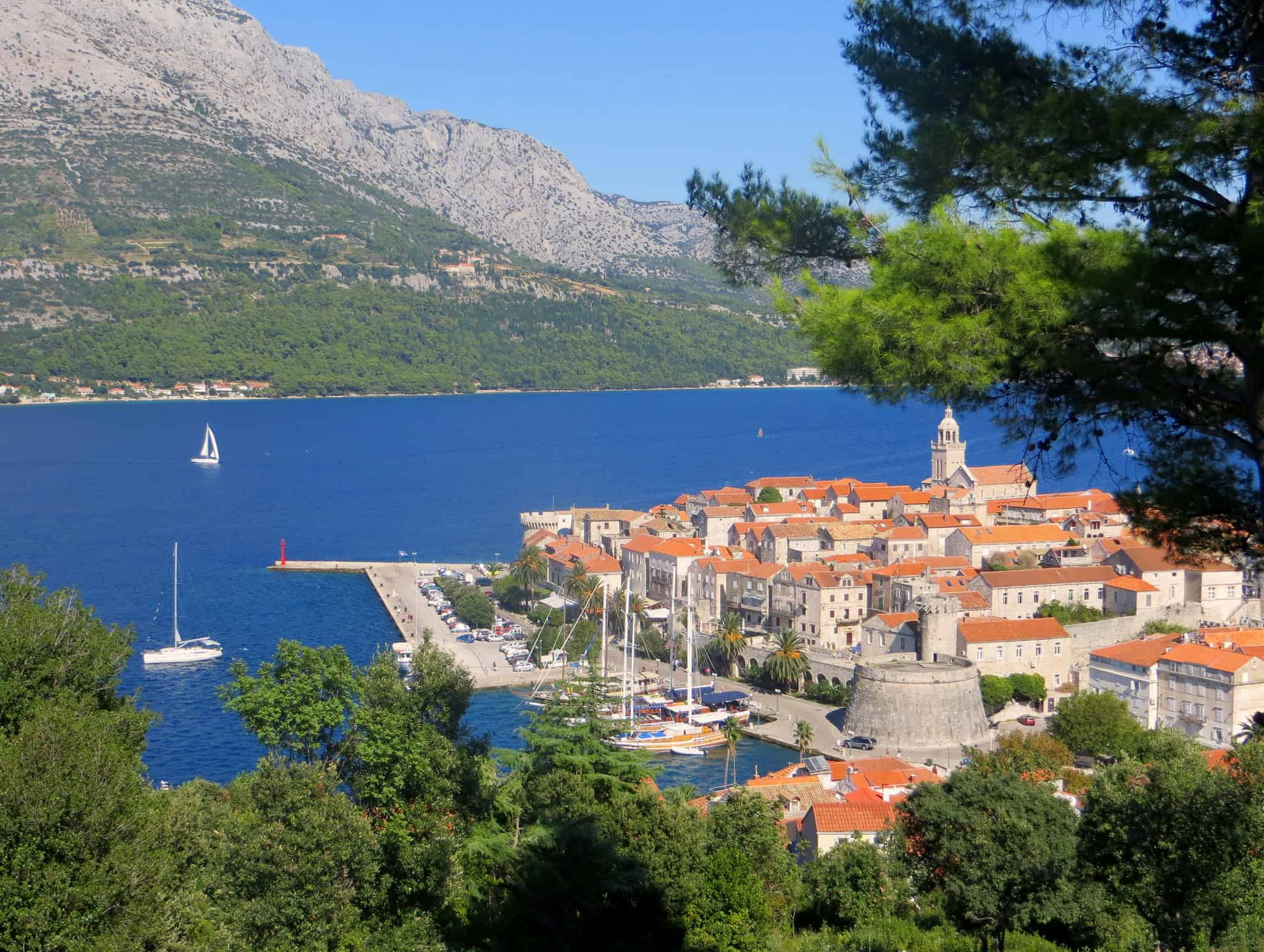 Island hopping in Croatia, Korčula