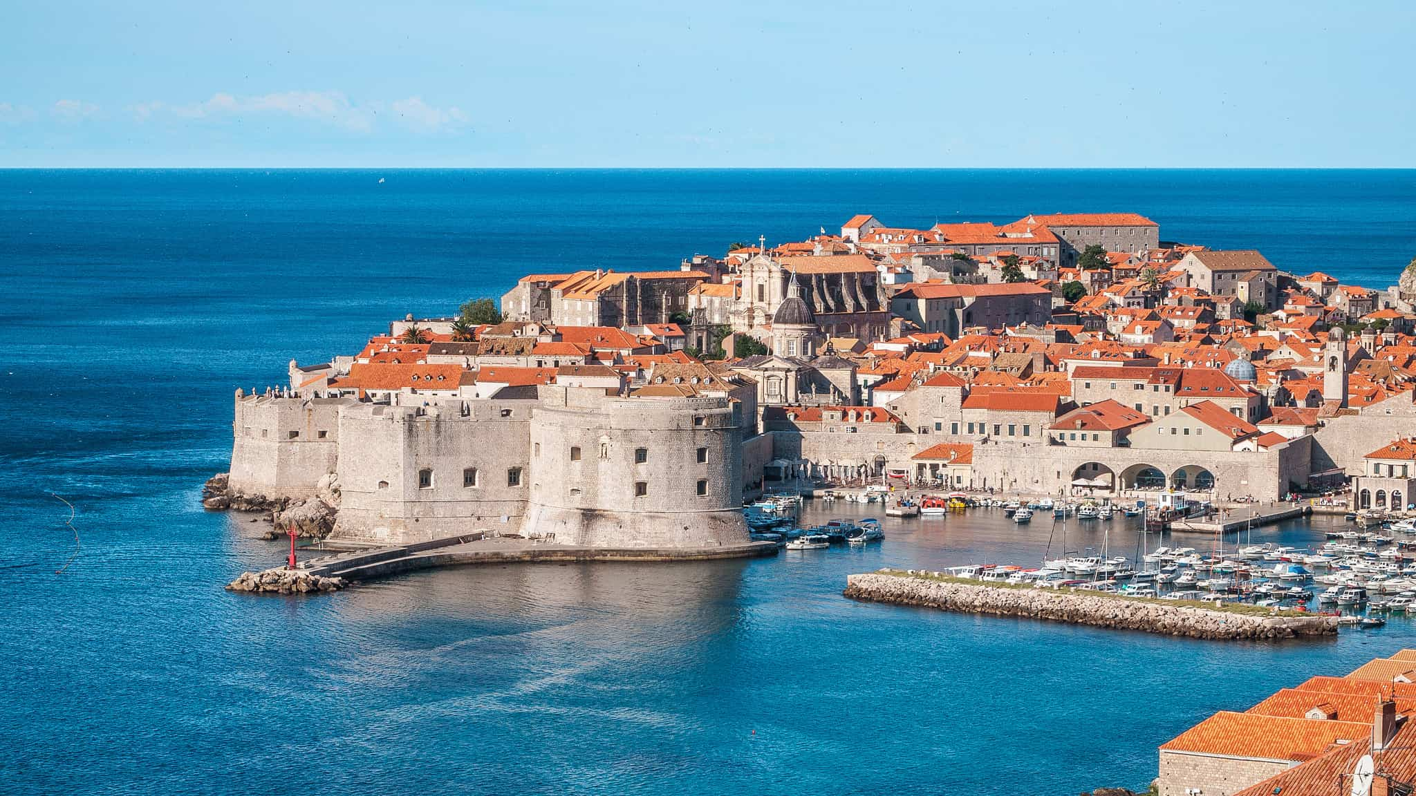 Island hopping in Croatia, Dubrovnik