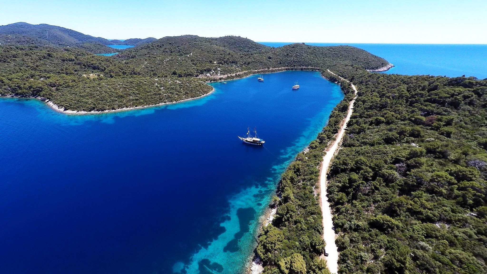 Island hopping in Croatia, Mljet