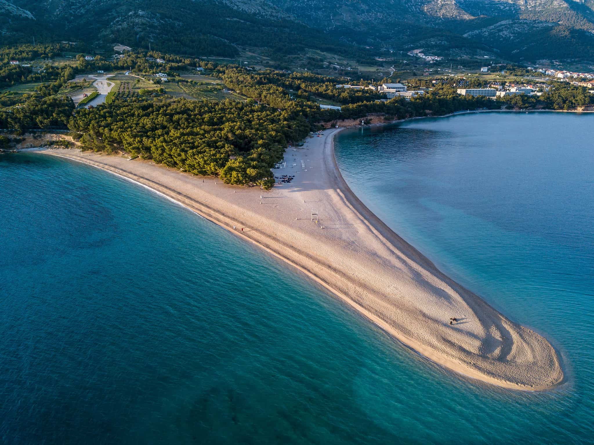 Island hopping in Croatia, Bol, Brač, Zlatni Rat