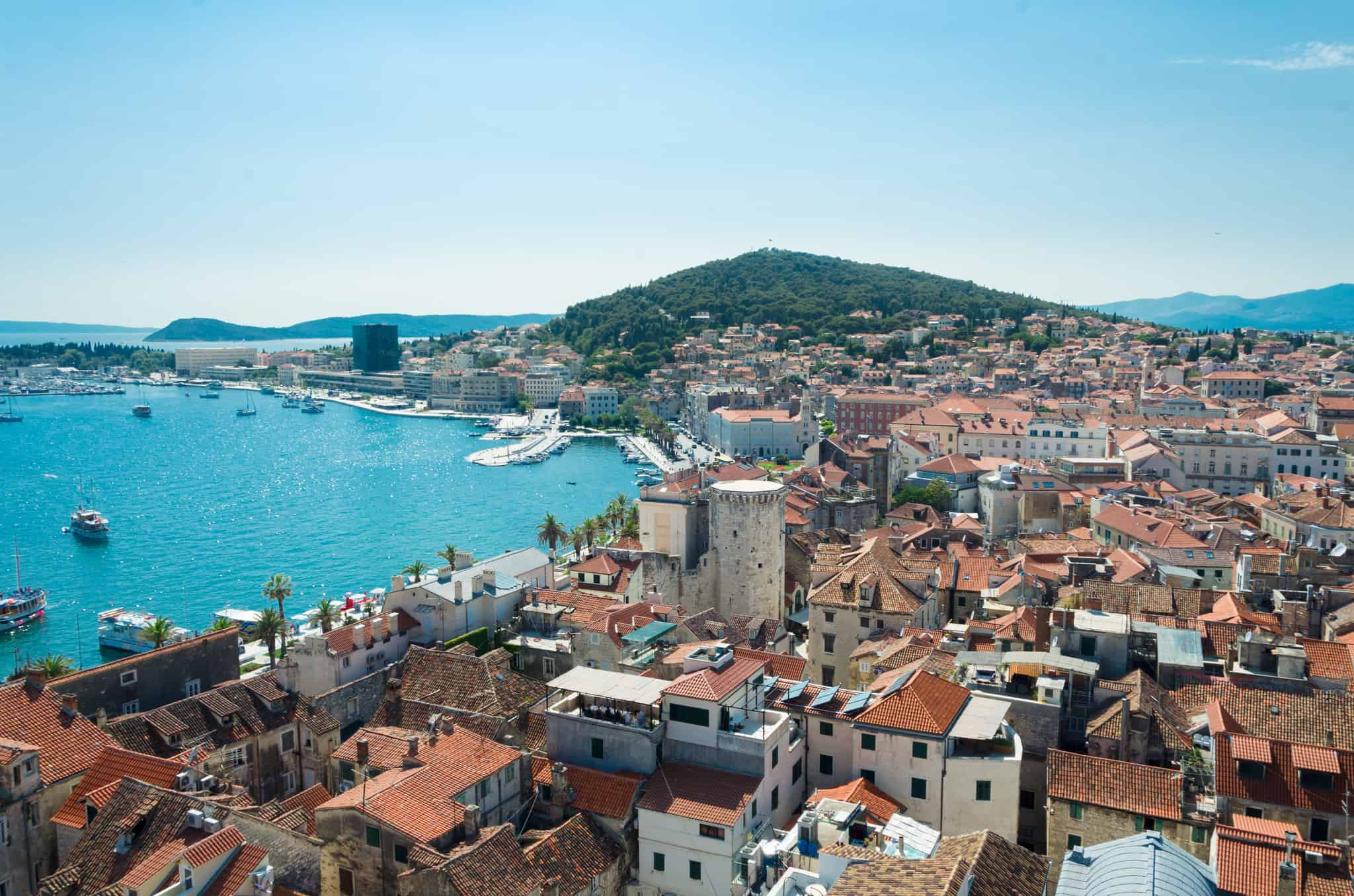 island hopping in Croatia, Split