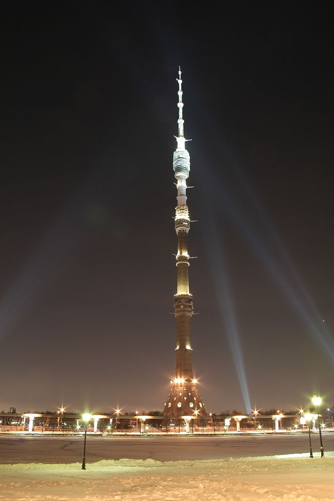 Ostankino TV Tower Moscow