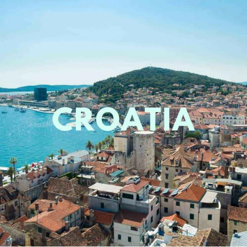 croatia destinations - Destinations