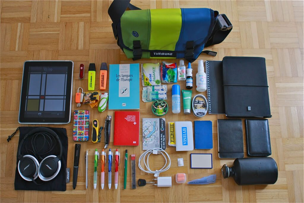digital nomad traveling gear