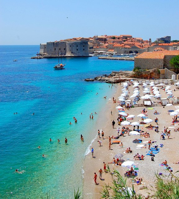 dubrovnik beaches 1 - Best Dubrovnik beaches - Top Sunbathing Spots For This Summer