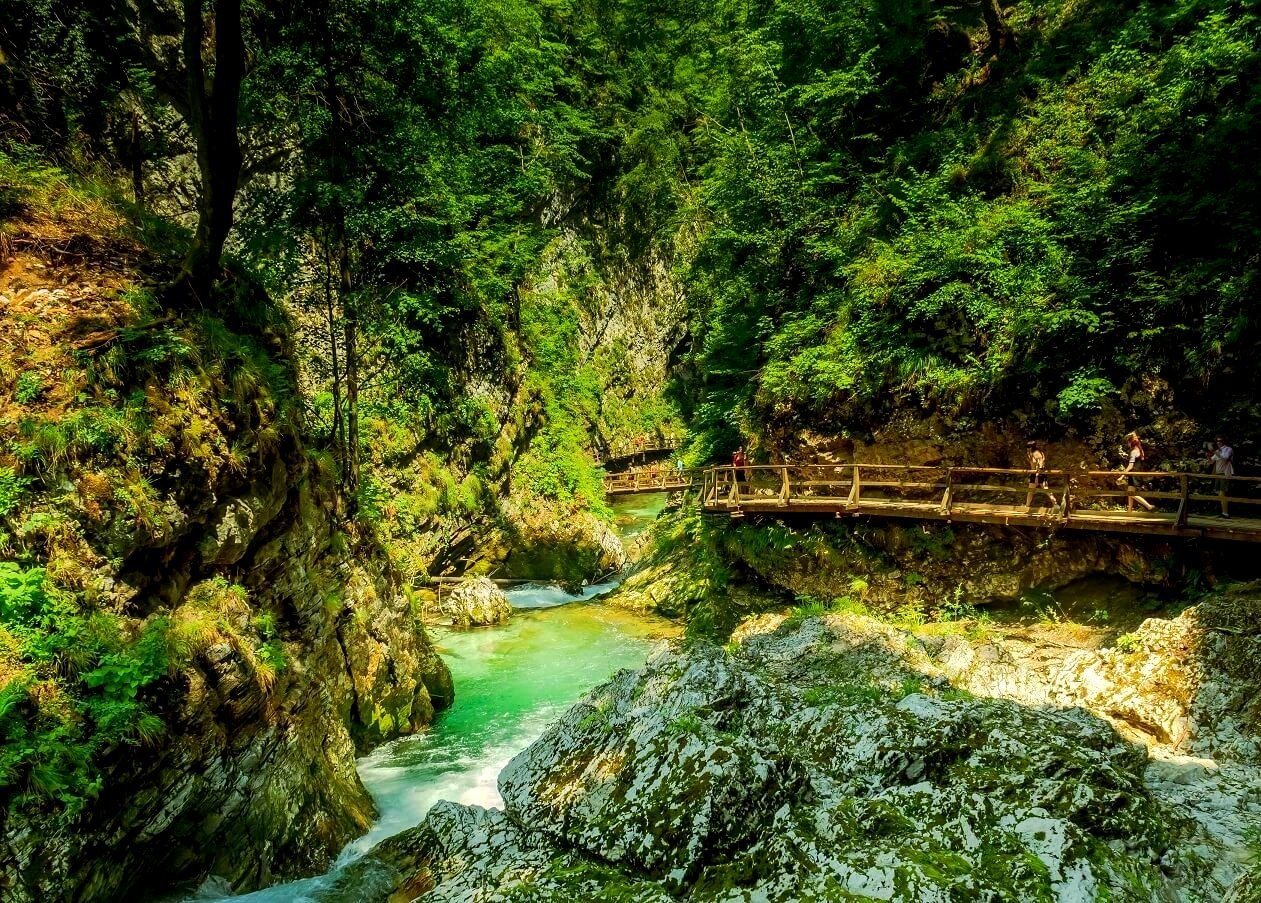 Vintgar Gorge 1 - Slovenia Travel Blog