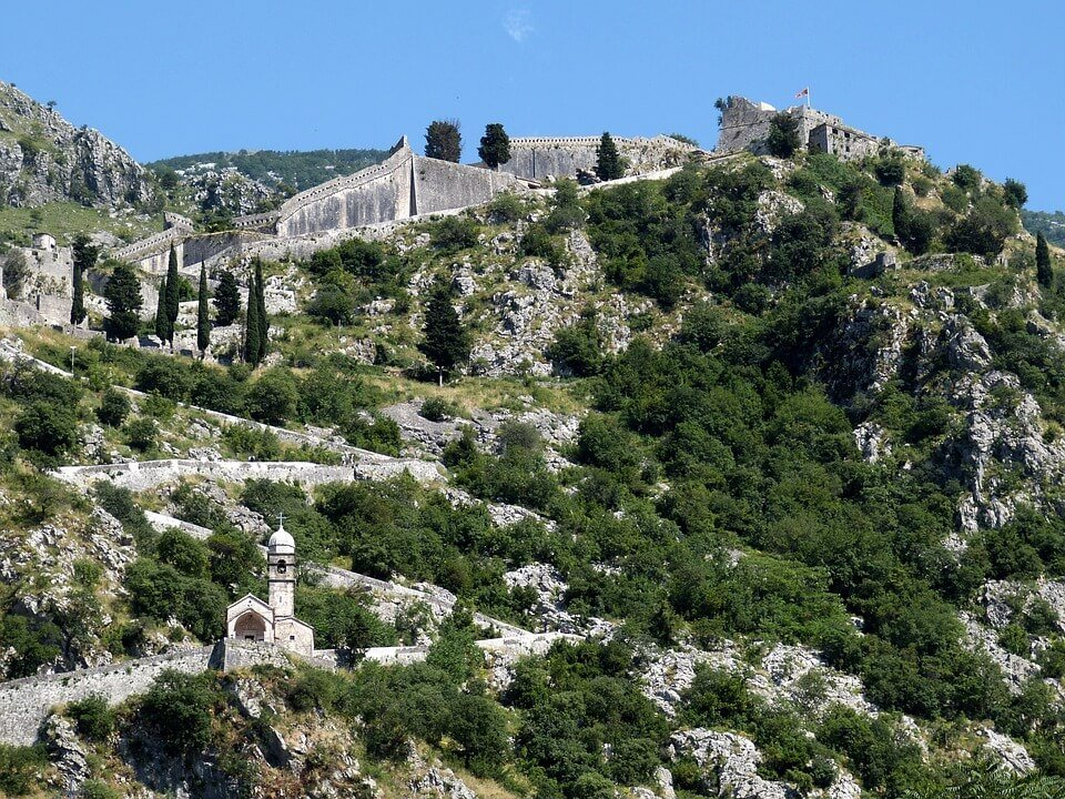 Kotor fortress San Giovanni Montenegro - Things to do in Kotor, Montenegro