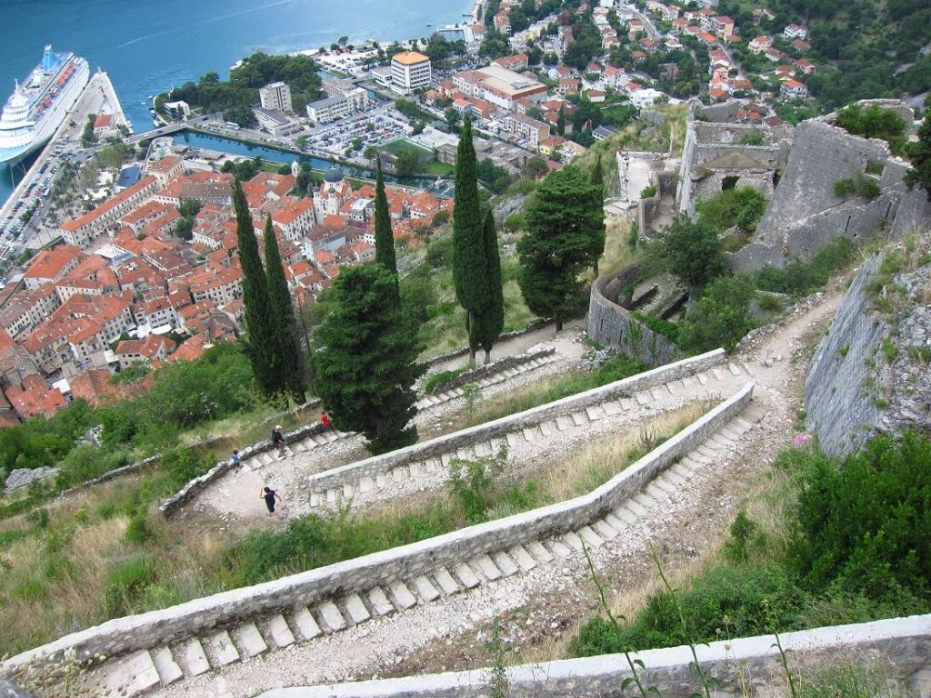 Kotor town walls Montenegro 1024x768 - Things to do in Kotor, Montenegro