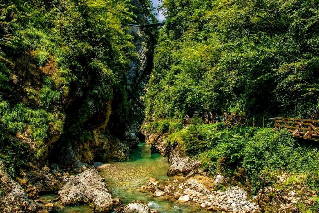 tolmin gorge - Slovenia Travel Blog