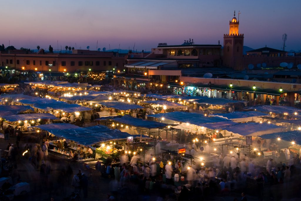 Djma 1024x685 - Best Places to Visit in Morocco