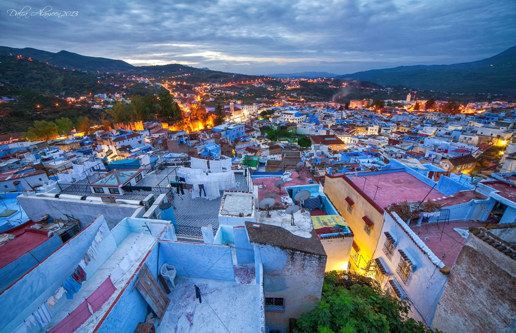 chefchaouen blue pearl 1024x662 - Best Places to Visit in Morocco