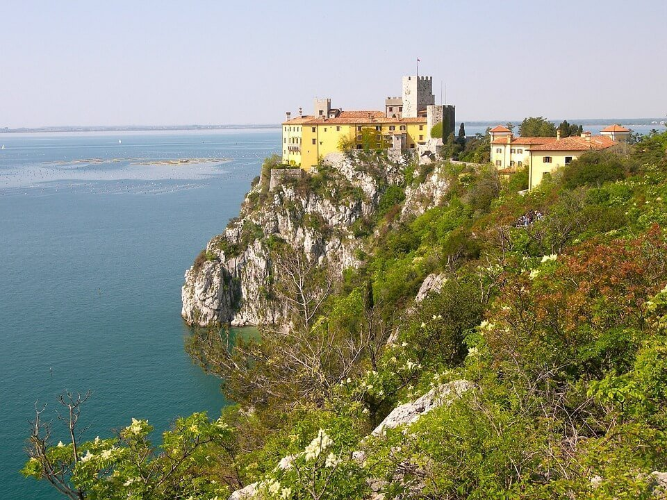 duino castle - A Complete Guide to the Alpe-Adria Trail