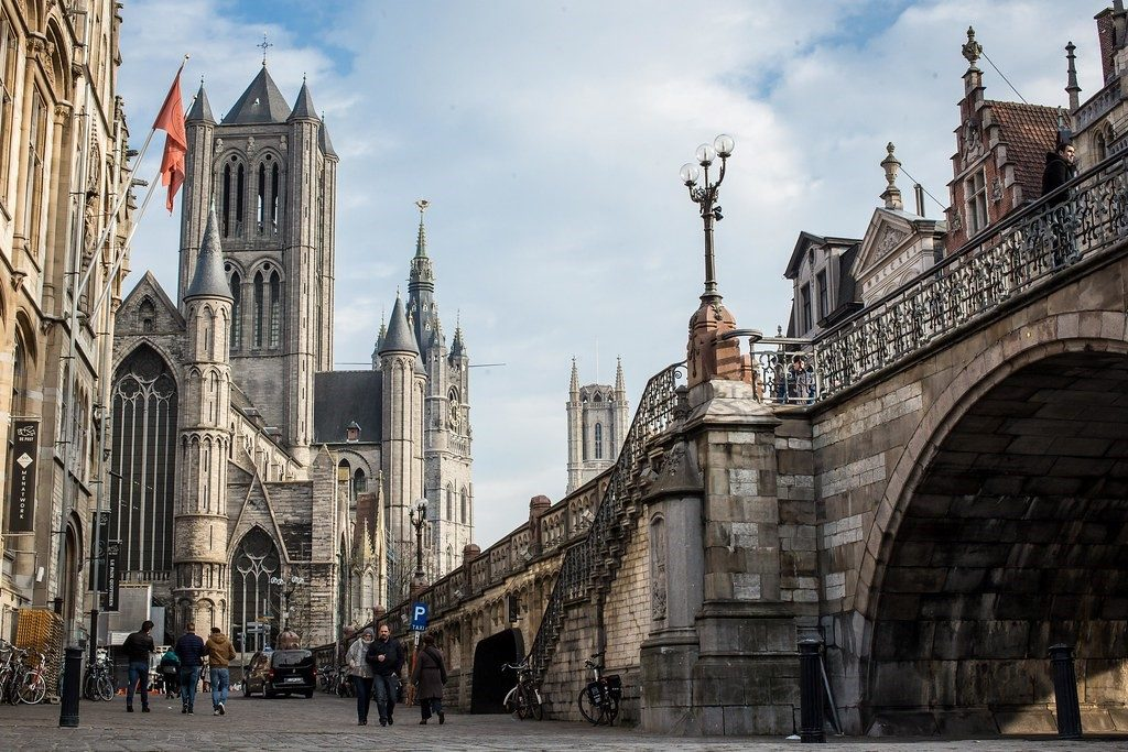 St. Michael's Bridge ghent 1024x683 - CITY GUIDE TO GHENT, BELGIUM: 10 THINGS LOCALS LOVE DOING