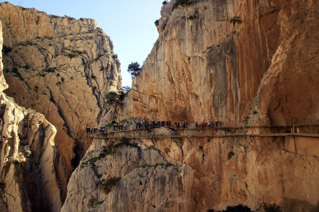 caminito del rey malaga 1024x682 - Best places to visit in Europe in 2019